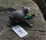 Cast Iron Geocache Creatures: Frog