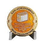 7000 Finds Geo-Achievement® Award Coin Set