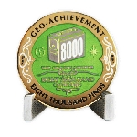 8000 Finds Geo-Achievement® Award Coin Set