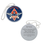 Salute Your Troops - Air Force Travel Tag