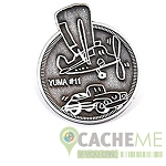 Yuma 2014 Pin - Antique Silver