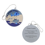 Salute Your Troops - Coast Guard Travel Tag