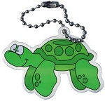 Tyler the Turtle Travel Tag