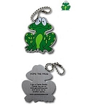 Hops the Frog Travel Tag