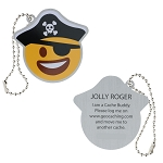 Jolly Roger Travel Tag
