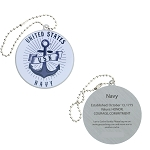 Salute Your Troops - Navy Travel Tag
