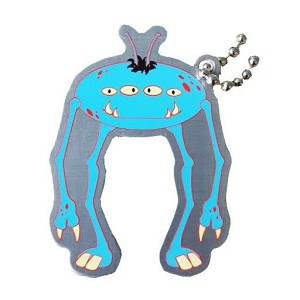 Jorg the Alien Travel Tag