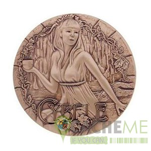 Greek Gods Geocoin Series: Cybele