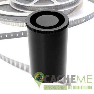 35mm Film Canister with log