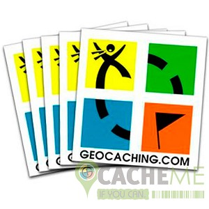 Geocaching Tattoo - Retro Edition - 10 Pack
