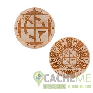 Wooden Nickel SWAG Coin- Rot13