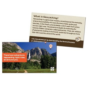 Geocaching Trail Cards - 10 Pack