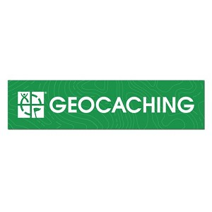 Geocaching Bumper Sticker