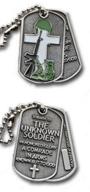 Unknown Soldier - Antique Silver