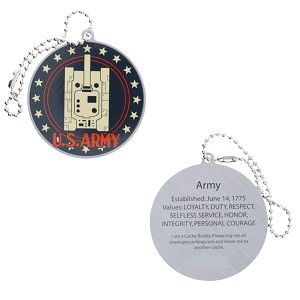 Salute Your Troops - Army Travel Tag