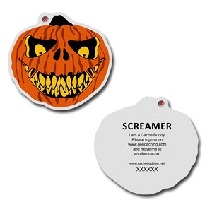 Screamer Travel Tag