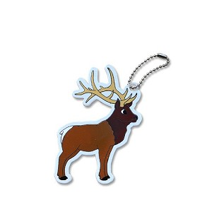 Carl the Elk Travel Tag