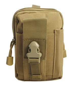 Molle Pouch Tan