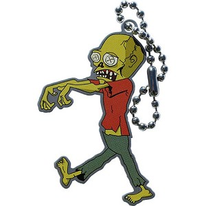 Zoltan the Zombie Travel Tag